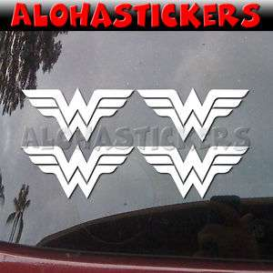inch WONDERWOMAN Vinyl Decal Car Window Sticker M198M