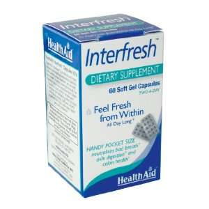 Health Aid Interfresh (Fresh Breath Capsules)   Blister
