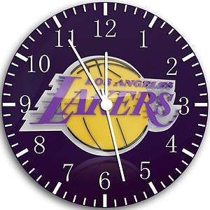 LOS ANGELES LAKERS Logo Wall Clock room Decor #93 Fast shipping