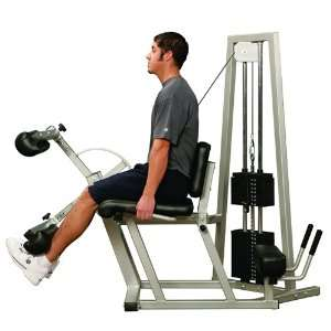Fitness Edge Dual Leg Curl & Extension Station: Sports