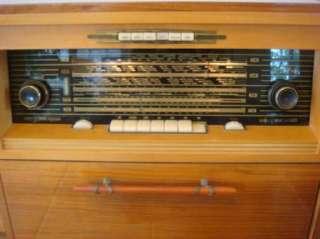 Mid Century Kuba 3954 Stereo Console Receiver Riva 810