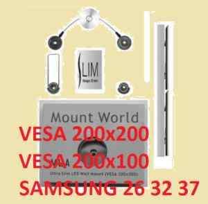 Ultra Slim LCD LED Wall Mount TV Samsung 26 32 37 ML3