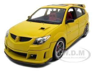 new 1 18 scale diecast car model of 2003 pontiac vibe gtr die cast car