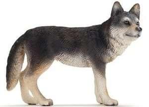 NEW Schleich Wild Life Animals America Wolf Black 14605