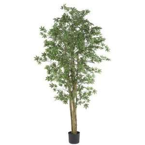 Exclusive By Nearly Natural 6 Ft Japanese Maple Silk Tree: