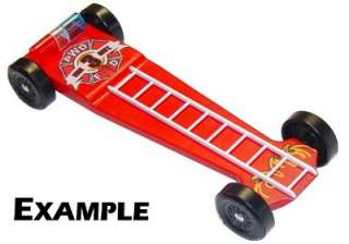 pinewood derby corvette template - fire engine pinewood derby car designs fire free engine