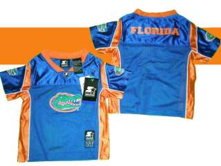 FLORIDA GATORS TEBOW TODDLER PLAYER FOOTBALL JERSEY 2T