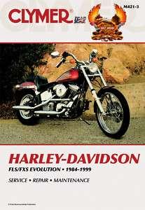 CLYMER SERVICE MANUAL HARLEY DAVIDSON M421 FLSTN FLSTS