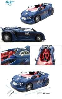 Hasbro & Marvel Spider man Spider XR 1 Battle Car ( Blue )