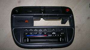 EK CIVIC TYPE R PRE FACELIFT 96 98 CARBON CENTRE STEREO CONSOLE EK4