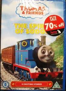 Thomas & Friends   8 SODOR STORIES (DVD)