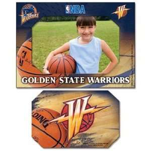 NBA Golden State Warriors Magnet   Die Cut Horizontal