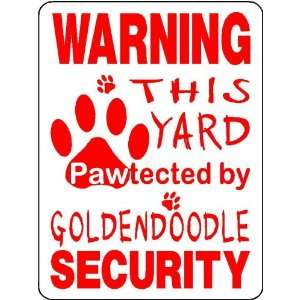GOLDENDOODLE ALUMINUM DOG SIGN 3211: Everything Else
