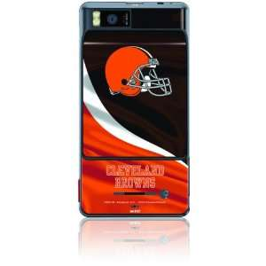 Skinit Protective Skin for DROID X   Cleveland Browns Logo