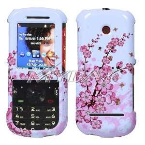 Spring Flower Design Snap On Hard Case for Motorola VE440