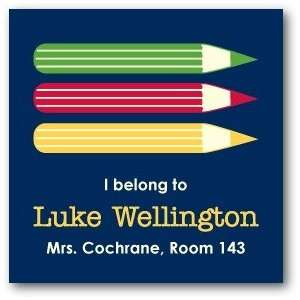 Custom Gift Tag Stickers   Colored Pencils By Hello Little