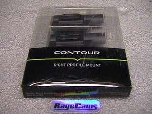 Contourhd LEFT Side Low Profile Helmet Camera Mount LS