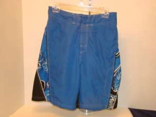 VTG SPEEDO TRUNK BOARD Shorts Mens M VELCRO FLY SWIM