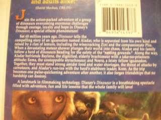 Walt Disney Dinosaur VHS Tape 786936143973