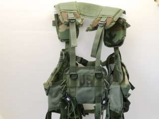 LOAD Bearing VEST Tactical ENHANCED MOLLE US Army USMC