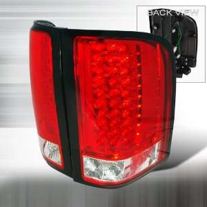 CHEVY SILVERADO LED TAIL LIGHTS RED Automotive