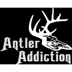 addiction die cut decal sticker hunter hunting deer duck bow gun