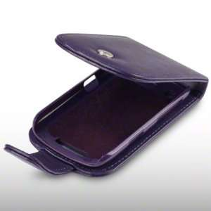 BLACKBERRY CURVE 9360 SOFT PU LEATHER FLIP CASE BY