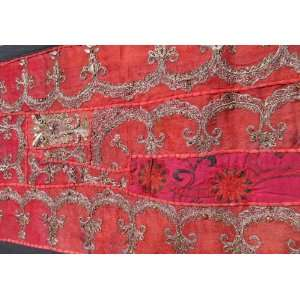 60 Table Runner / Wall Hanging Sari Patchwork intricate