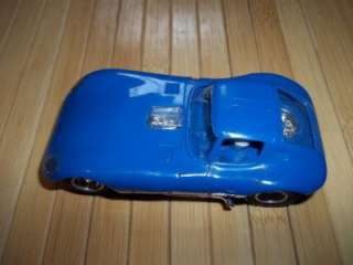 Vintage Strombecker 132 Slot Car From Road America Racing Set Blue