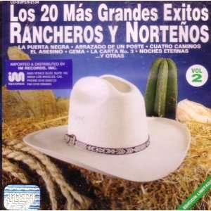 Los 20 Mas Grandes Exitos Rancheros y Norteños   Vol. 2