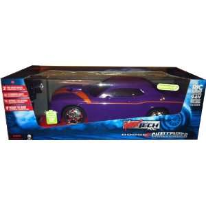 Out 110 Scale Radio Control Car   Dodge Challenger Toys & Games