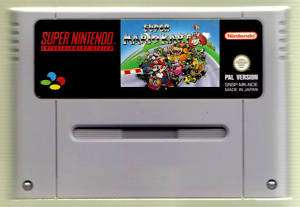 Super Nintendo SNES Super Mario Kart in TOP Zustand