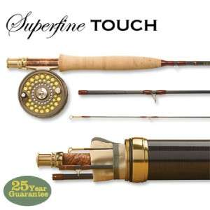 Orvis Superfine Touch Rod 66 3 wt, Rod and Reel Combo NEW