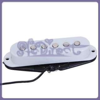White Single Coil Guitar Pickup for Fender Strat Guitar New
