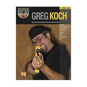 Hal Leonard Greg Koch Guitar Play Along Volume 28 Book and