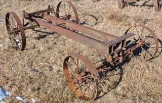 Factory IHC Famous Titan 3 6 HP Hit & Miss Gas Engine Horse Drawn Saw