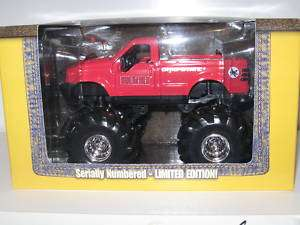 2002 Ohio State Buckeye Diecast Fleer1/32 Monster Truck