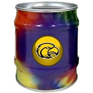 Southern Miss Golden Eagles USM NCAA Tie Dye Tin Bank