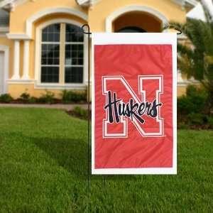 University of Nebraska Huskers Flag   Garden Size Patio