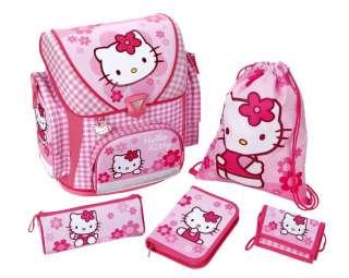 Hello Kitty Schulranzen Set Federmappe 5tlg. Turnbeutel