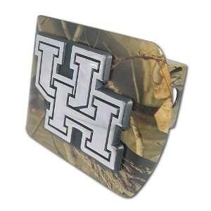 University of Houston Cougars Camo with Chrome UH Emblem