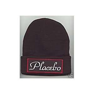 PLACEBO Beanie HAT SKI Skull CAP Black Blue Brown NEW