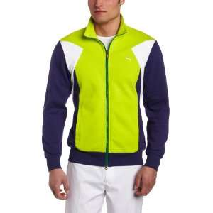 Puma Mens Golf Colorblock Track Jacket