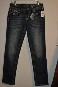 Womens Miss Me Jeans Sunny Skinny Jeans JD1034S4 Size 30
