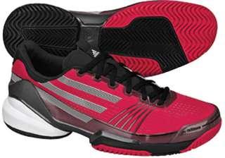 Adidas Adizero Feather Mens Tennis Shoe Pink/Black