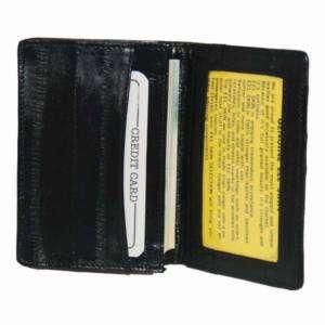 EEL Skin Leather Business Credit Card Holder #E324 803698927556