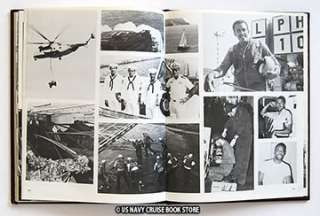 USS TRIPOLI LPH 10 WESTPAC CRUISE BOOK 1981 1982