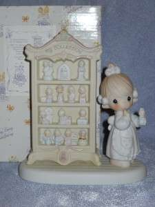 Precious Moments   127817  MIB  A PERFECT DISPLAY OF 15 HAPPY YEARS