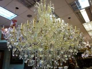 Maria Teresa Style Austrian Crystal Palace Chandelier
