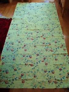 IKEA Sweden vintage BIG fabric Floral Peachtree